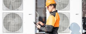 Inspection à l'entretien des systèmes thermodynamiques et des systèmes de ventilation combiné à un chauffage
