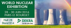Découvrez DEKRA au World Nuclear Exhibition !