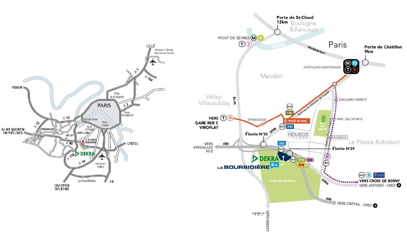 Plan Acces Dekra Certification Route