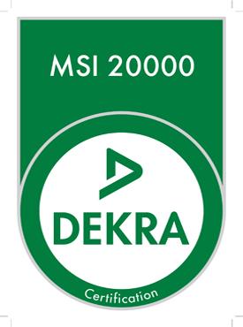 La certification financière MSI 20000 DEKRA Certification